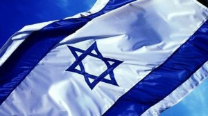 Israeli-flag-waving